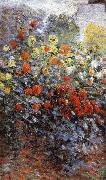 Detail from Monet-s Garden in Argenteuil, Claude Monet