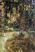 The Water Lily Pond at Giverny, Claude Monet