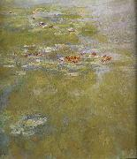 Detail from the Water Lily Pond, Claude Monet