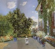 The Artist-s House at Argenteuil, Claude Monet