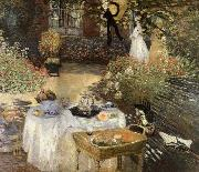 Claude Monet Luncheon oil painting reproduction