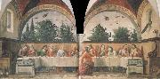 Domenico Ghirlandaio The communion oil painting