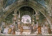 Domenico Ghirlandaio The guest meal of the here ode oil painting