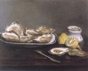 Edouard Manet Oysters oil painting reproduction