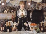 Bar in the foil-Bergere, Edouard Manet