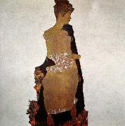 Egon Schiele Portrait of Gerta Schiele oil painting on canvas