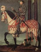 Franz i from France to horse
