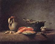 Jean Baptiste Simeon Chardin Still life oil painting reproduction
