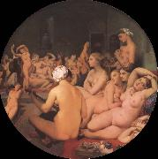 Jean-Auguste Dominique Ingres The Turkish bath oil painting on canvas