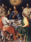 Pontormo The Mabl in Emmaus oil painting artist