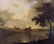 View of Tabley House,Cheshire, Richard  Wilson