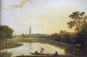 View towards the Pagoda and Bridge, Richard  Wilson