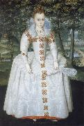 Robert Peake the Elder Elizabeth Queen of Bohemia oil painting