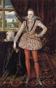 Robert Peake the Elder Henry Prince of Wales oil painting