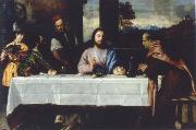 The meal in Emmaus, TIZIANO Vecellio