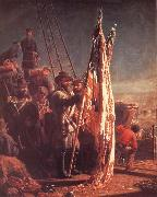 Thomas Waterman Wood The Return of the Flags 1865 oil painting
