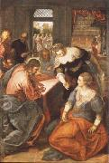 Christ in Maria and Marta, Tintoretto