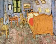 Bedroom in Arles, Vincent Van Gogh