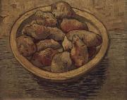 Style life with potatoes in a Schussel, Vincent Van Gogh