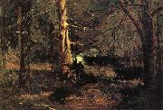 A Skirmish in the Wilderness, Winslow Homer