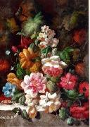 unknow artist Floral, beautiful classical still life of flowers.074 oil painting reproduction