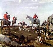 unknow artist Classical hunting fox, Equestrian and Beautiful Horses, 061. oil painting reproduction