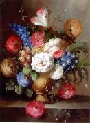 unknow artist Floral, beautiful classical still life of flowers.091