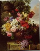 unknow artist Floral, beautiful classical still life of flowers.097 oil painting reproduction
