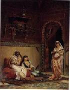 unknow artist Arab or Arabic people and life. Orientalism oil paintings 164 oil painting reproduction