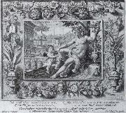 Crispin van de Passe the Elder after Maerten de Vos and Georg Hoefnagel