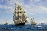 unknow artist Seascape, boats, ships and warships. 111