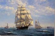 unknow artist Seascape, boats, ships and warships. 15