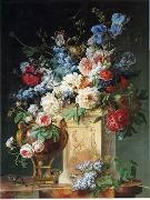 unknow artist Floral, beautiful classical still life of flowers.044 oil painting reproduction