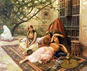 unknow artist Arab or Arabic people and life. Orientalism oil paintings  505