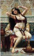 unknow artist Arab or Arabic people and life. Orientalism oil paintings  387