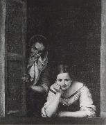 Two Women at the window