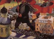 Boris Kustodiev A Bolshevik oil painting reproduction