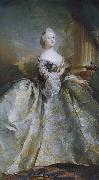 Carl Gustaf Pilo Queen Louise oil painting artist