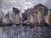 The Museum at Le Havre, Claude Monet