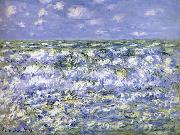 Waves Breaking, Claude Monet
