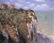The Cliff at Dieppe, Claude Monet