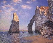 Claude Monet The Needle Rock and the Porte d-Aval,Etretat oil painting on canvas