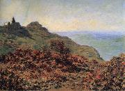 The Church at Varengeville and the Gorge des Moutiers, Claude Monet
