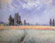 Wheat Field, Claude Monet
