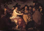 Diego Velazquez Los Borrachos oil painting reproduction