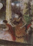 Bete in the cafe, Edgar Degas