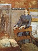 Portrait of Miss Lu, Edgar Degas
