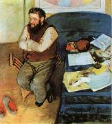 The Portrait of Martelli, Edgar Degas