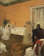 The Song Rehearsal, Edgar Degas