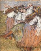 Russian Dancers, Edgar Degas